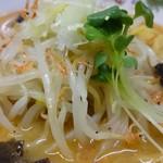 麺屋 雪国 - エビみそラーメン(秋・冬限定)