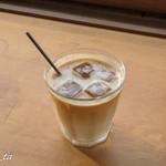 ミヤジマコーヒー - アイスカフェオレ