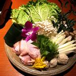 105118641 - 丹波地鶏の水炊き鍋