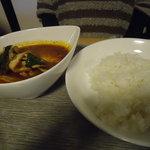 和洋食道 Ecru - スープカレーランチセット880円