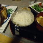 和洋食道 Ecru - 北海道産ひらきのランチ680円