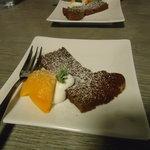和洋食道 Ecru - セットのチョコケーキ