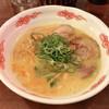 東龍 - 料理写真:●東龍そば+唐揚げ定食900円税別