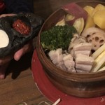 くしん - ⑤くしん特製塩豚と変わり野菜のゴロゴロせいろ蒸し