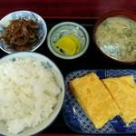 柏木亭 - 料理写真:「玉子焼定食?」650円