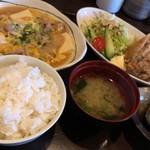 あぶりや 三日月亭 - 料理写真:三日月定食:メイン皿