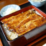 一二三 - 料理写真:うな重(肝吸い付き)3,200円
