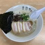 金田家 - 黒豚らーめん煮玉子入