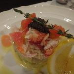 エミズキッチン - ☆蟹ちゃんサラダは身がたっぷりです(^u^)☆