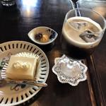 アデリータ - 料理写真:チーズケーキセット 540円