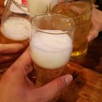 105141284 - シンハーで乾杯