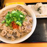 キリン - 肉そば(大)