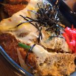 古謝そば屋 - カツ丼