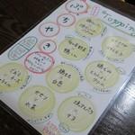 PIKOSHHHU - ぷちやきメニュー
