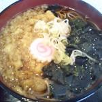 そば処 高喜屋 - セットの蕎麦(2019年4月6日撮影)