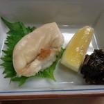 鮓廣嶋 - 鯛白子焼物