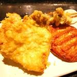 こだわり麺や - 天ぷら