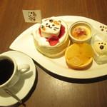 Sweets Smile - とーきゅんにゃんにゃんパンケーキセット 1296円(税込)【2019年1月】
