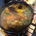 天竺 - 野菜カレー 900円