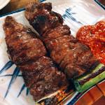弁慶  - 上ハラミ串