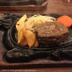ジョンブル - 料理写真:ジョンブルステーキ(1580円税込)