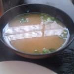 定食の店 いと美 - お味噌汁