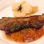 105160509 - 希少部位カイノミのステーキ