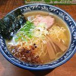 めん処 樹 - めん処 樹(塩らぁ麺 750円)