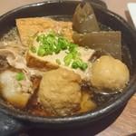 北角 - オリーブ豚の肉豆腐(690円)