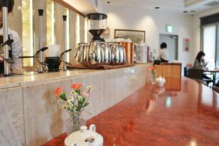 コーヒーロード - 豪華なカウンター