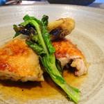 アトリエドフク - 料理写真:メイン 鶏のコンフィ