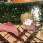 よし川 新別館 - 鰤の砂ずりと桜鯛