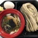 中華そば 一楽 - 比内地鶏の昆布水つけ麺 800円 味玉 100円