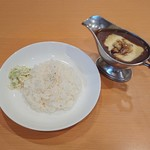 欧風カレー食堂 jizi ジジ - チキンカレー 950円+チーズ200円