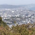 一夜城 ヨロイヅカ・ファーム - 石垣山展望台からの小田原城