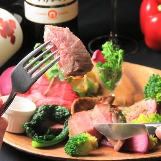 Ginsaiの有機野菜をふんだんに楽しめるイタリアン