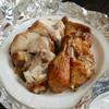 Resutorammachida - 料理写真:チキンの丸焼き(半分)