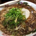 尾道ラーメン 一丁 - 麺アップ