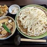 藤ヱ門 - 料理写真:【2019/4】肉汁&ミニまなず天丼