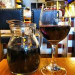 TRATTORIYA - 赤ワインデキャンタ