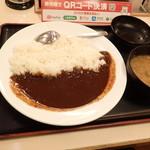 松屋 - 「新オリジナルカレー(大)」(480円)