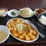 10519214 - 麻婆豆腐定食