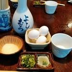 Yoshimura - 皿そば薬味セット