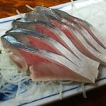 105195073 - しめ鯖(400円)
