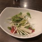 麦酒庵 - ホワイトセロリのサラダ
