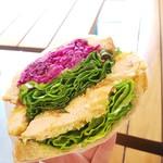 Park South Sandwich - しそ香るチキンカツ 540円
