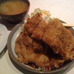 キャリコ - おまかせ定食(味噌とんかつ)