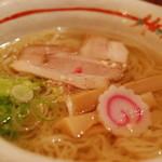麺 玉響 - 竹燻製麺