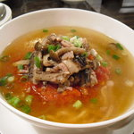 麺菜館 楽屋 - トマト麺 790円
