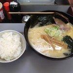 手打ちラーメン 麺工房 高砂 - 鶏白湯ラーメン・塩+ライス小